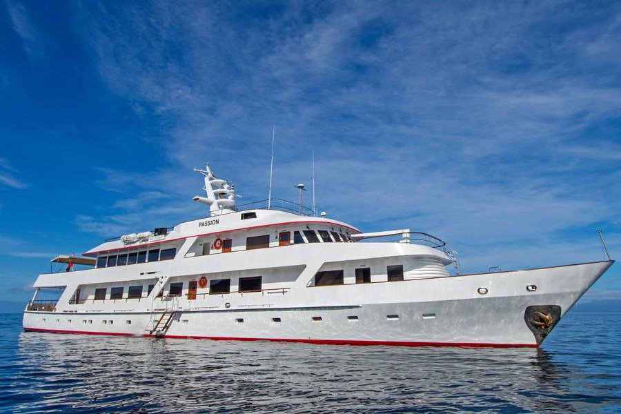 Passion Yacht, Galapagos