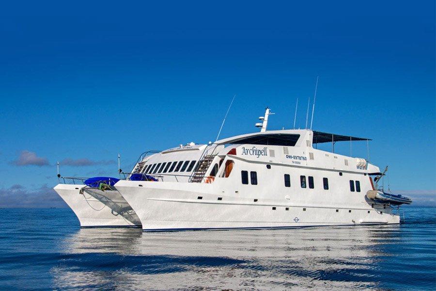 Archipell I Catamaran, Galapagos