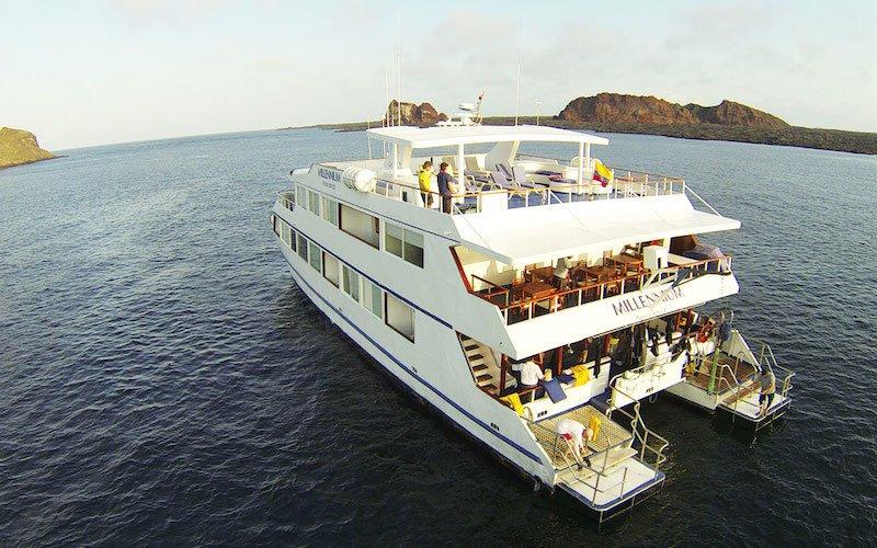Millennium Catamaran, Galapagos