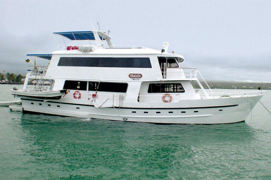 Fragata Yacht, Galapagos