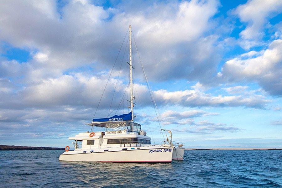 Lonesome George Catamaran, Galapagos