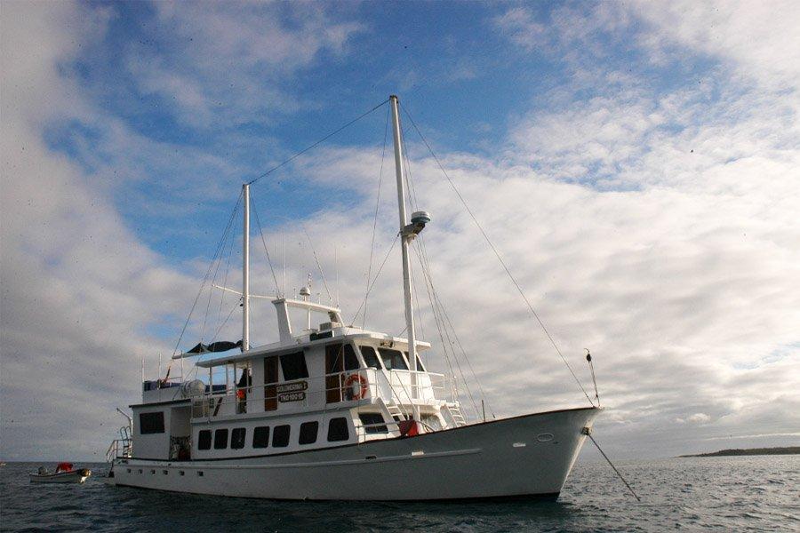 Golondrina I Yacht, Galapagos
