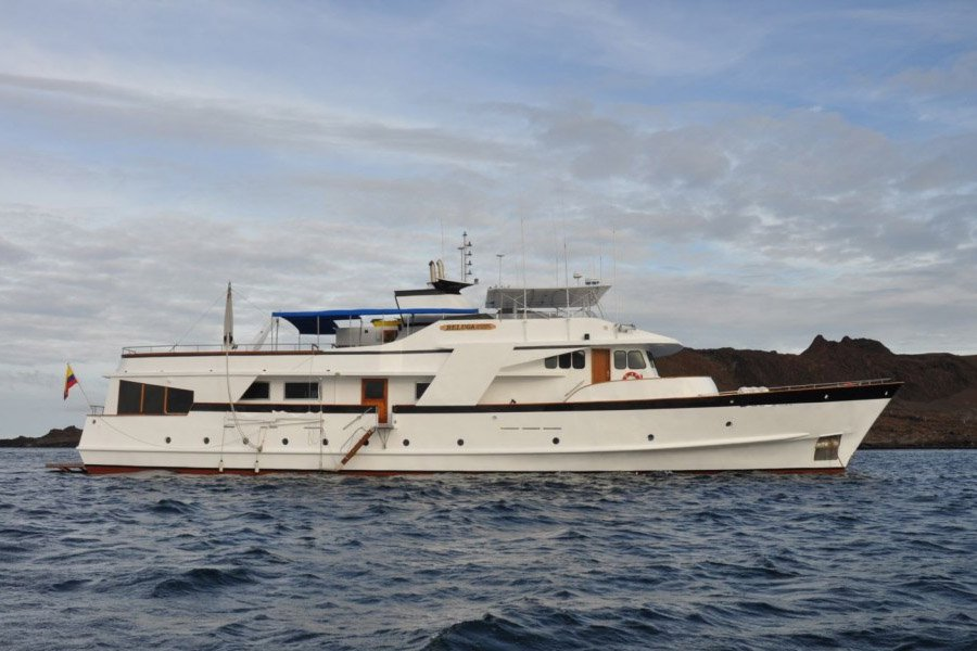 Beluga Yacht, Galapagos